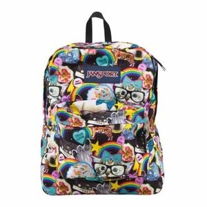 Jansport | Superbreak Mulit Hairball Print Animal